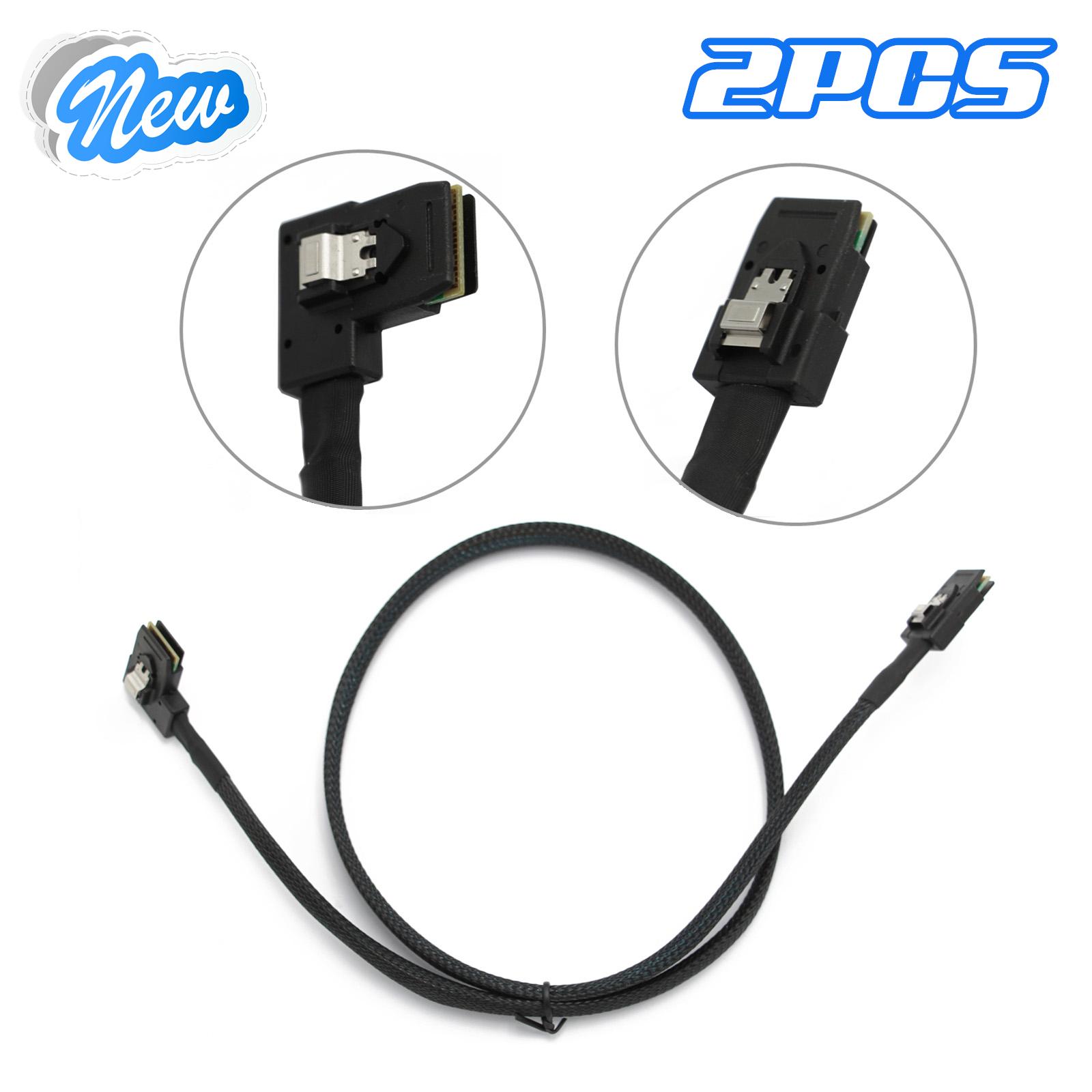2pcs M246M 0M246M SAS-A SAS-B SATA Cable Raid Controller For Dell R610 R710 H700