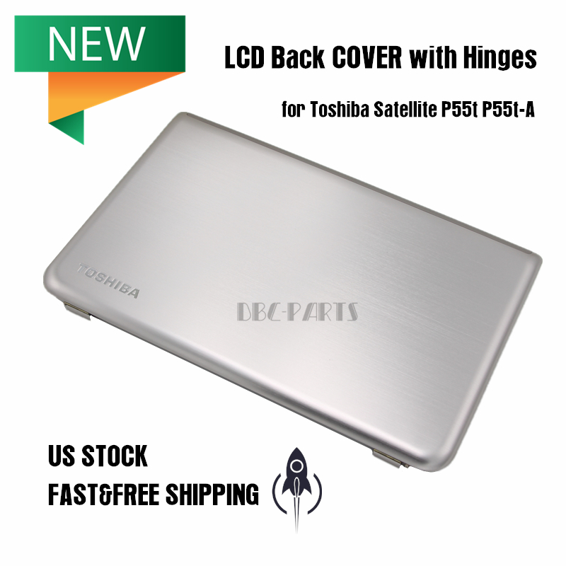 New LCD Back COVER Lid Hinges for Toshiba Satellite P55t P55t-A H000056090 Touch